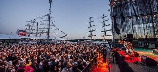 Festival de Jazz del Castillo de Klaipėda (Lituania).