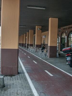 Carril bici Blasco Ibáñez.