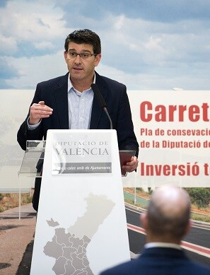 El presidente de la Diputació de València, Jorge Rodríguez.