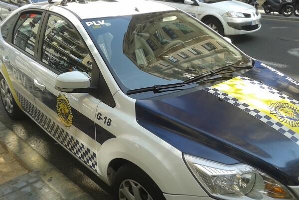 La Policía Local situará 51 vehículos en los puntos estratégicos de la Cabalgata de Reyes. (Policía Local).