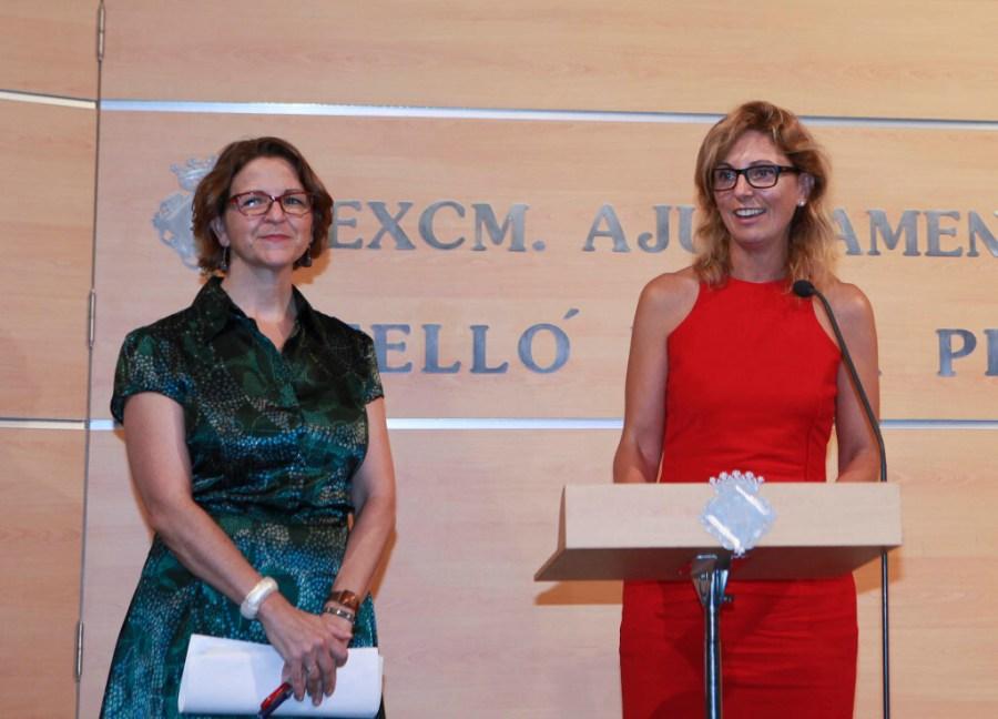 L'alcaldessa de Castelló amb la consellera de Medi Ambient