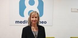 Doctora María Gómez Rodrigo en los estudios de la 8 televisión en el programa La 8 NOTICIAS comandado por Carmen Bort (47)