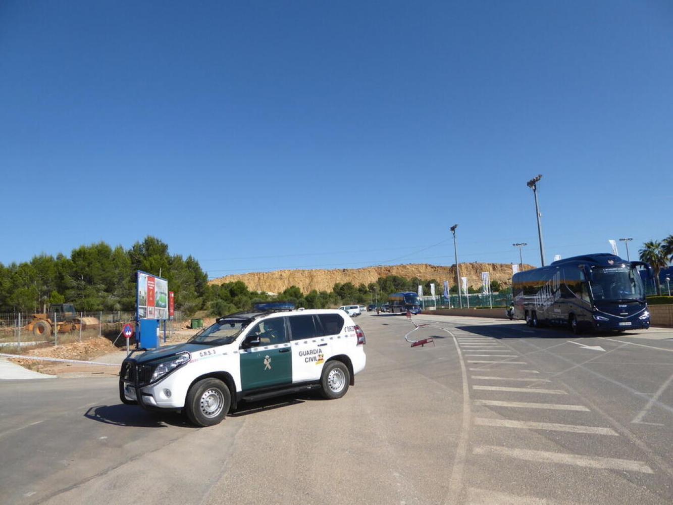 La Nucia EOlimpic Levante vs Sevilla seguridad 1 2020