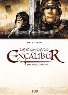 Portada del cómic 'Crónicas de Excálibur'.