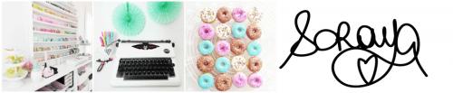 Soraya Maes Blog - le donut à paillettes