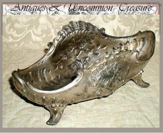 Antique Victorian Silver Plated Louis XVI Jardinière