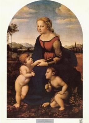 La Belle Jardinière painted by Raphael