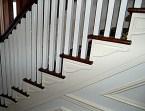 Contemporary stair skirt - http://uniquecustommouldingsandtrim.com