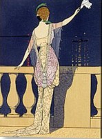 farewell at night Georges Barbier