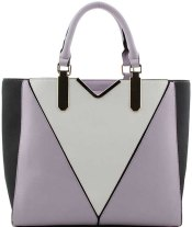Lilac-Grey Bag. Bagzone UK