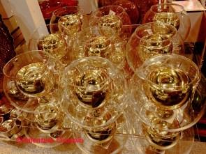 Golden Candleholders