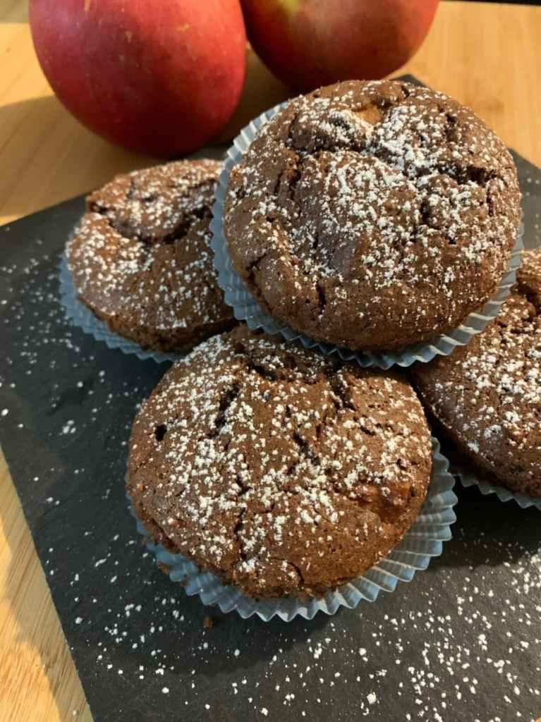 Muffin Mele e Cioccolato BioNutriForm 1