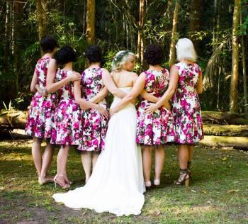 Hana & Bridesmaids
