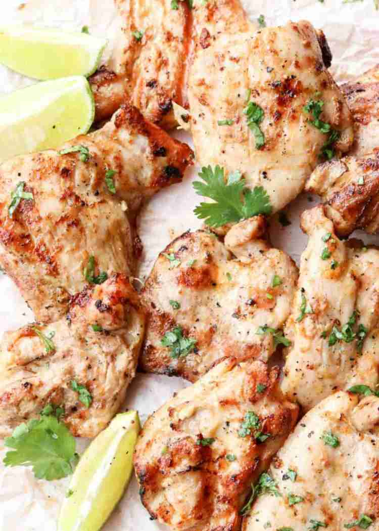 Tender Grilled Chicken Thighs Recipe