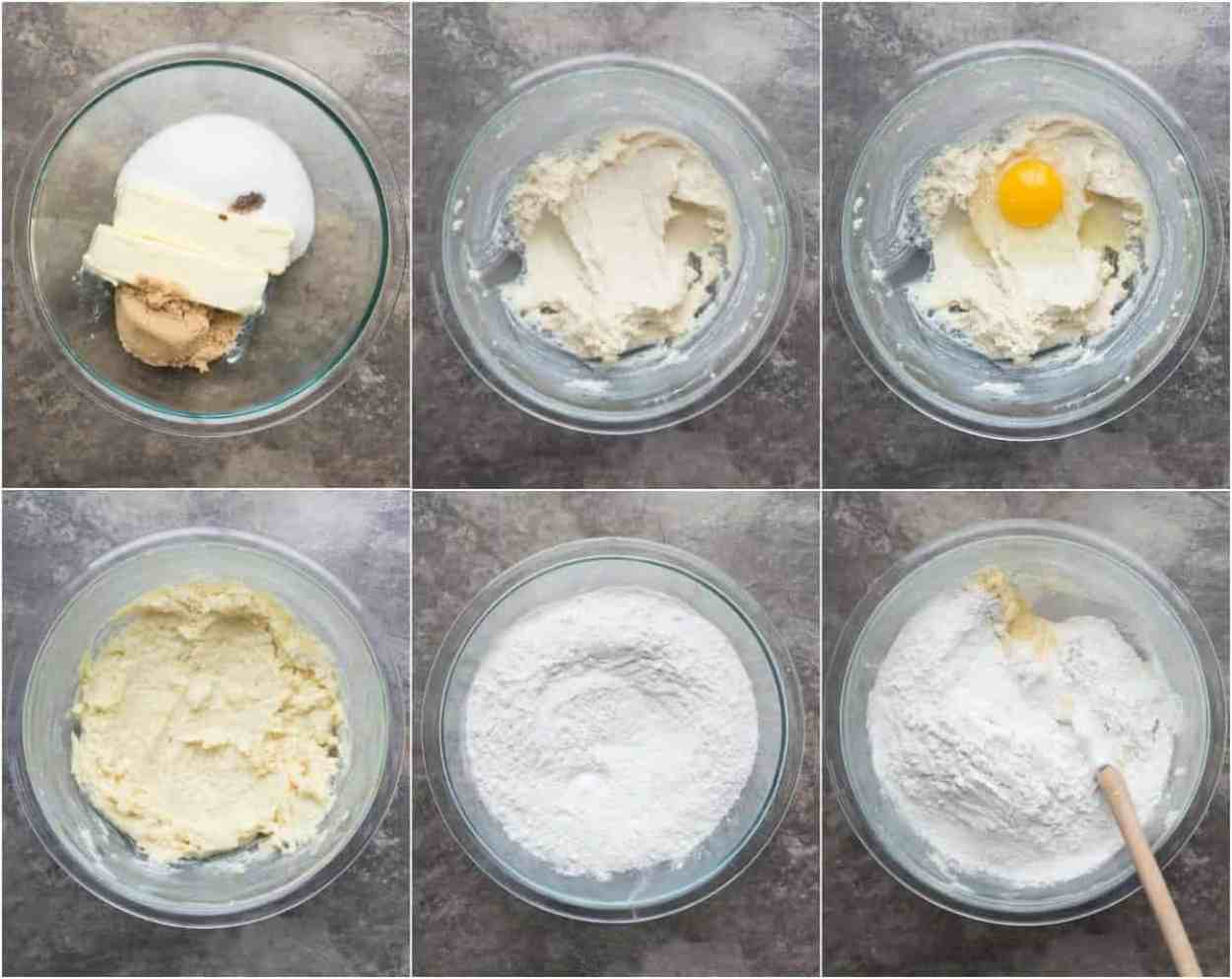 How to make batter for homemade chocolate chip cookies.