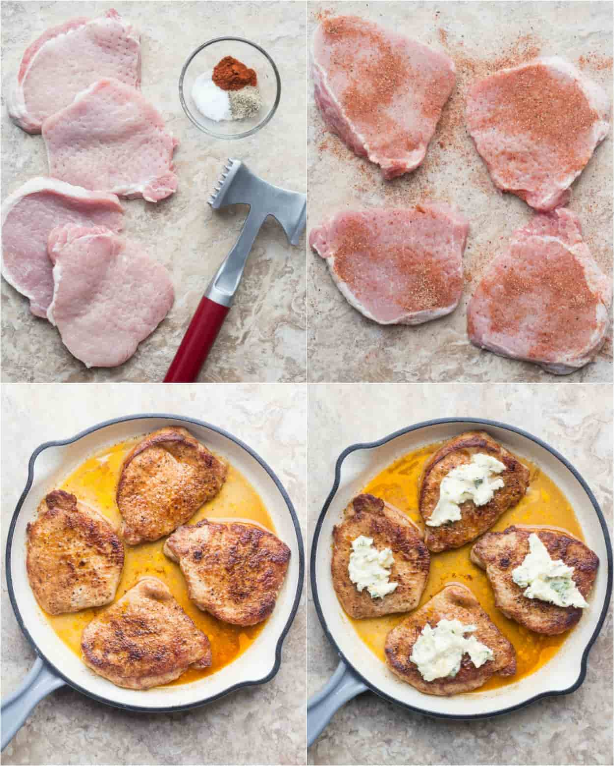 How to cook pork chops. How to prepare, seasone and cook the porkchops.
