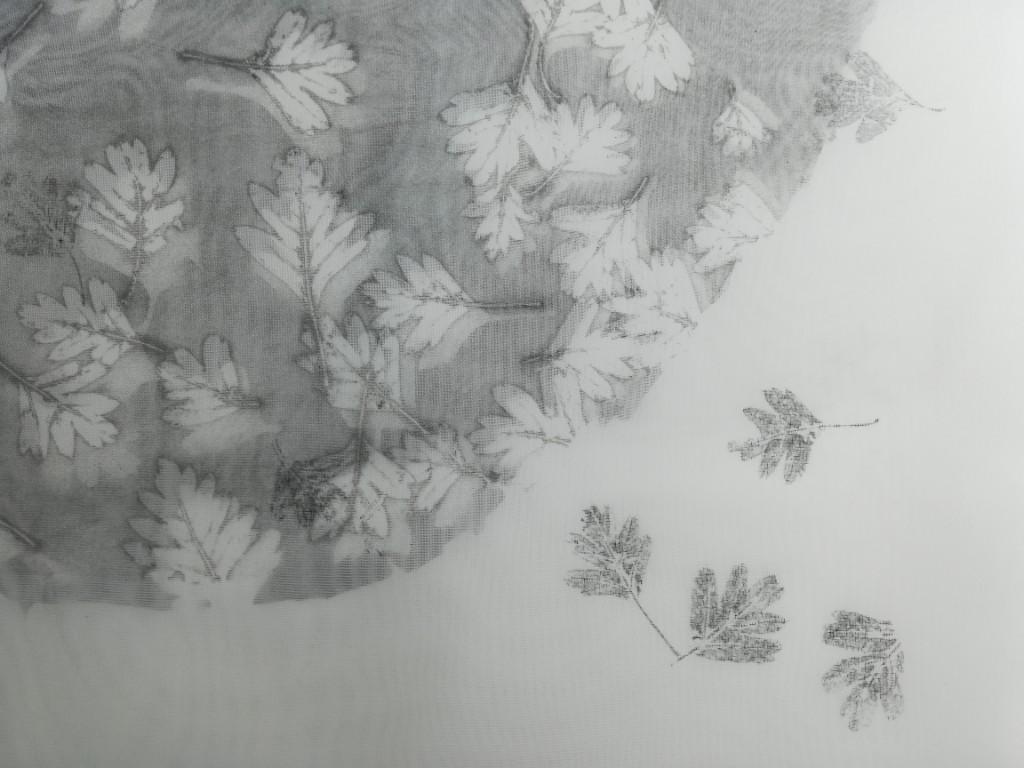 Monoprint La Foresta in Fiore, Valentina Semprini