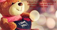 teddy day date