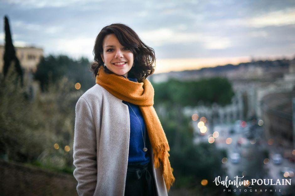 Shooting portrait Silvene Rome Créatrice punchy