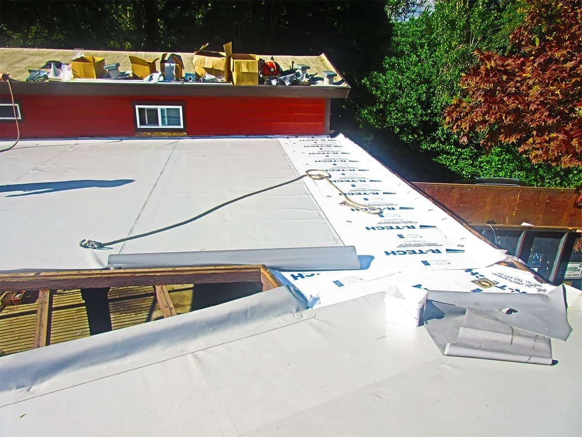 Pvc Flat Roofing Valentine Roofing