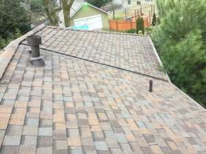 Kenmore Roof Replacement top side view