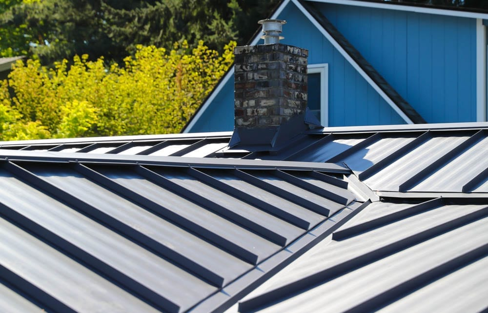 standing seam metal roofing by valentine roofing
