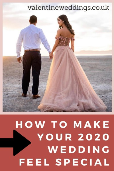 How to make your 2020 wedding feel special