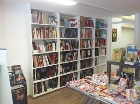 Agencement de librairie, bibliothèque encastrée