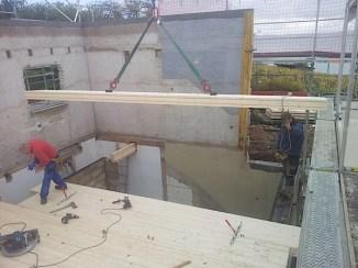 Dalle massive, plafonds finis