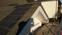 Élargissement d'un avant-toit