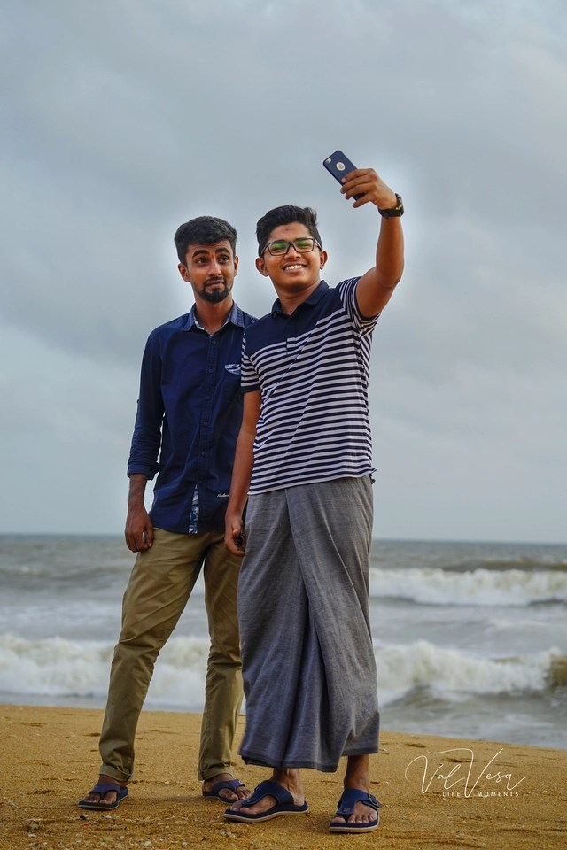 Un #selfie din Sri Lanka