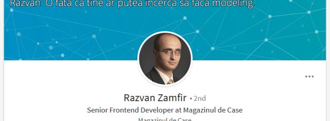 Razvan Zamfir misogin sexist de la Magazinul de case