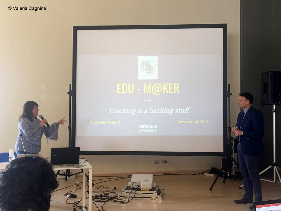 verbania innovation paola lisimberti and mimmo aprile with the edumaker project