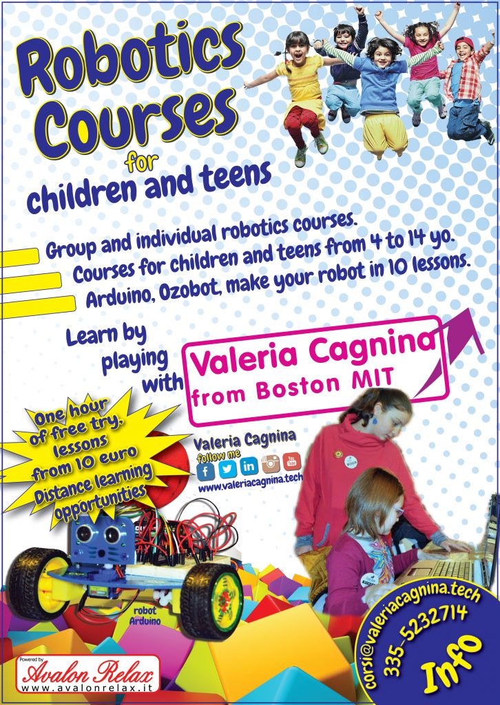 Robotics tech and digital courses for children teen and adults
