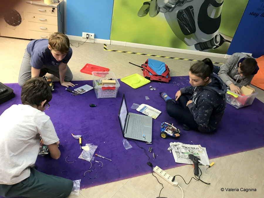 creatività design strumenti aula valeria cagnina robotica