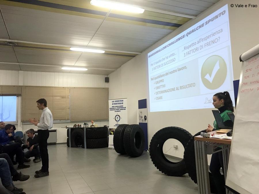 Formazione e team building in azienda: Michelin storia