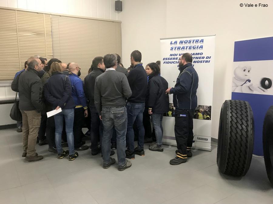 Formazione e team building in azienda: Michelin organizzatrice