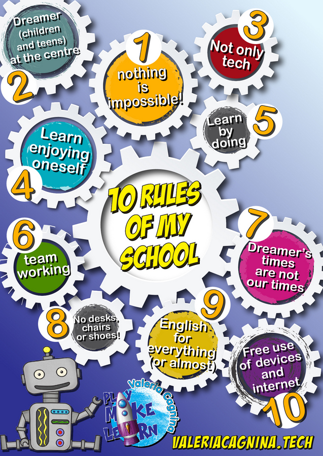 10 good school rules
