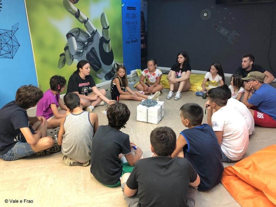 Corso per ragazzi dalla 1° Media alla 1° Superiore corso in aula