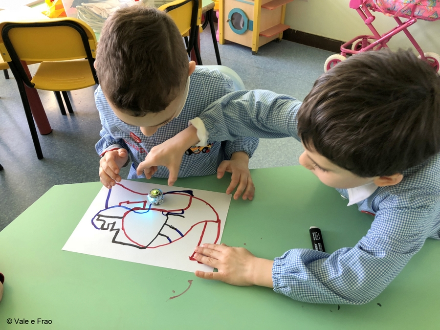 Corso per bambini dell'Asilo e di 1° elementare ad Alessandria ozobot