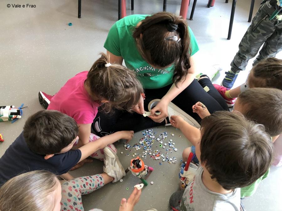 Corso per bambini dell'Asilo e di 1° elementare occhi e arte