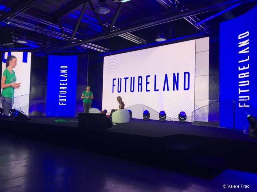 valeria cagnina e francesco baldassarre eventi e fiere laboratori futureland milano