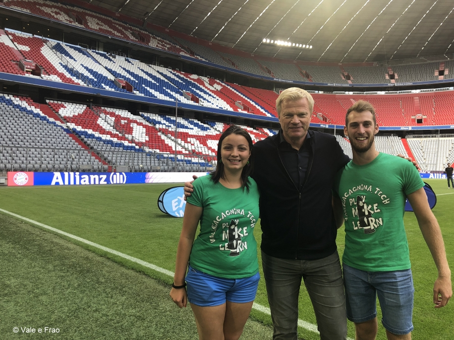 valeria cagnina e francesco baldassarre eventi e fiere khan allianz arena