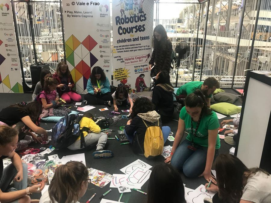 MakersTown 2018: fiera maker a Bruxelles esperienza laboratori