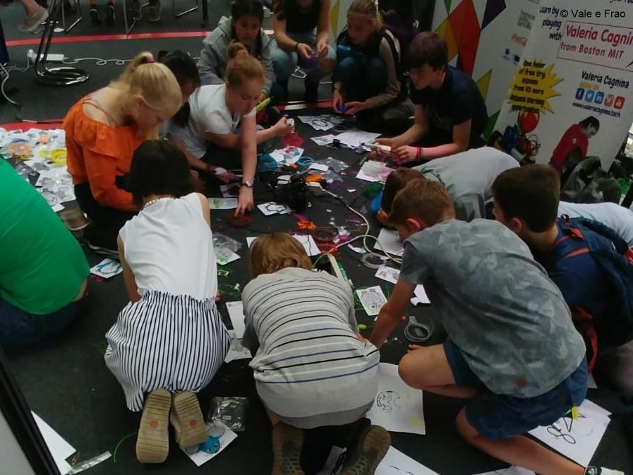 MakersTown 2018: fiera maker a Bruxelles apprendimento robot