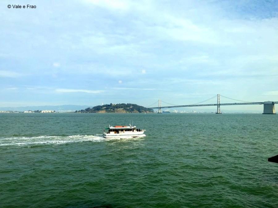 visitare Exploratorium il museo della scienza di San Francisco California panorama baia