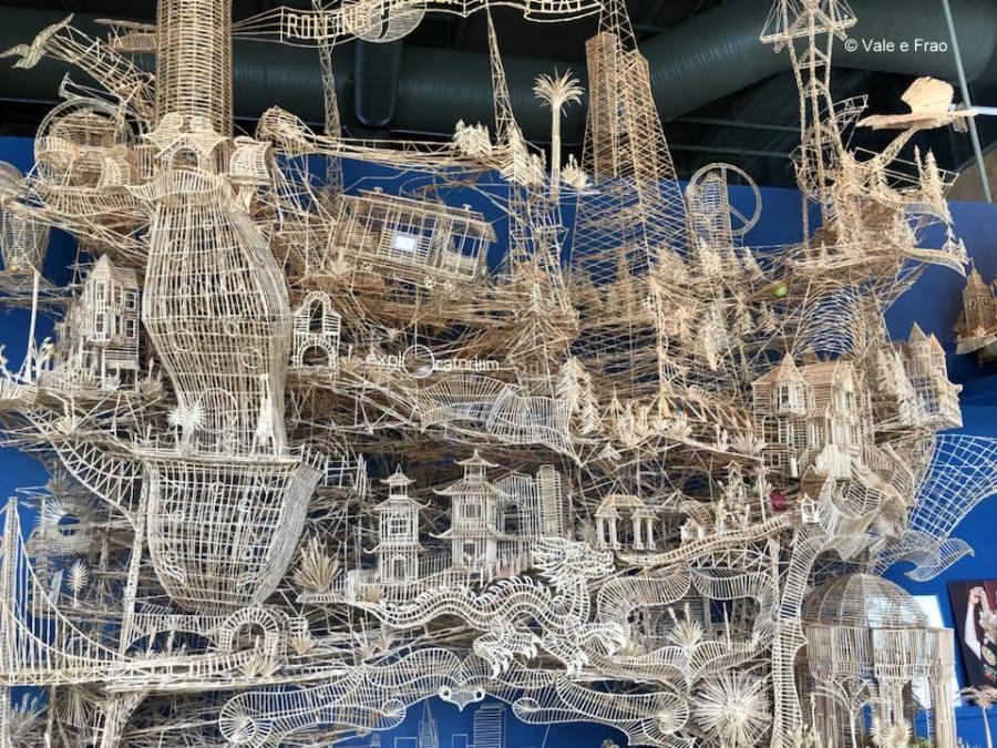 visitare Exploratorium il museo della scienza di San Francisco California artista