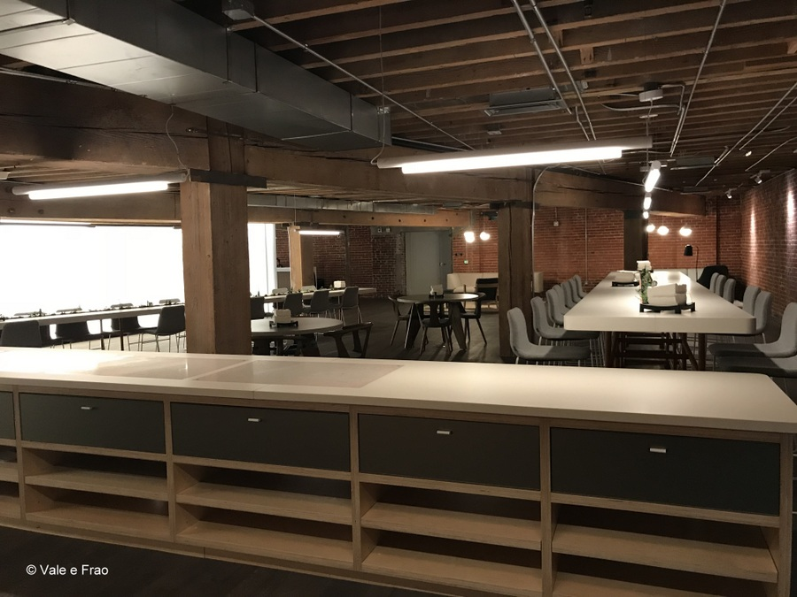 Visitare gli uffici di Github a San Francisco California open space