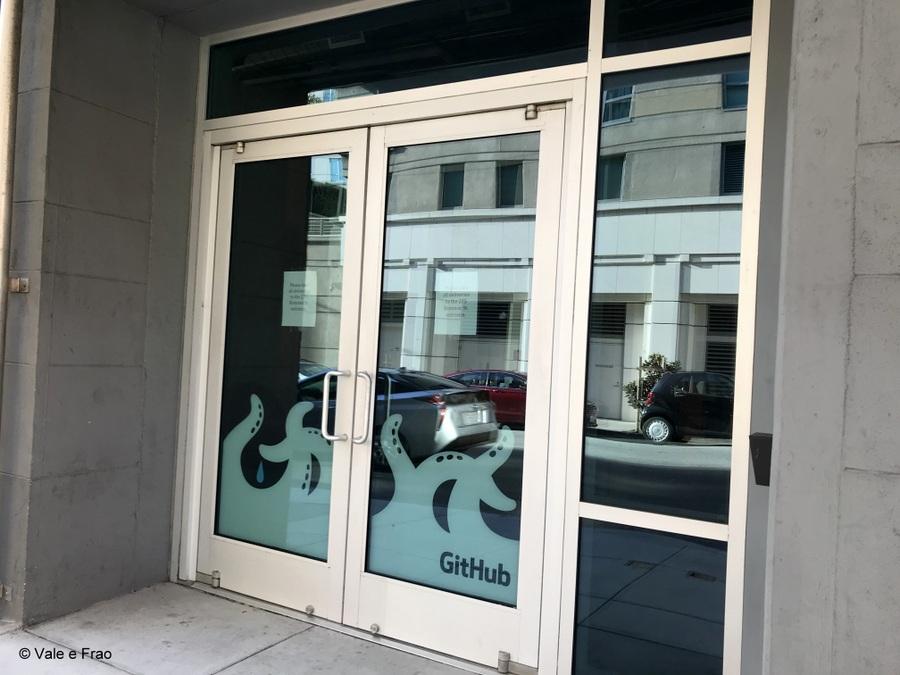 Visitare gli uffici di Github a San Francisco California ingresso