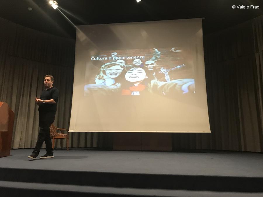 Conferenza a Lugano: sono speaker. Inizio presentazione conferenza